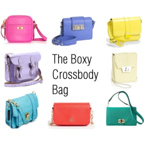 The Boxy Crossbody bag